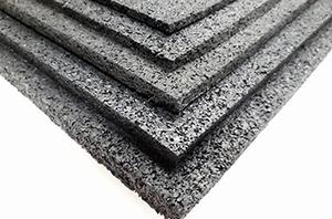 Granulaat rubber (ondervloer)  p/m²