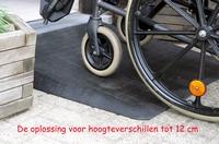 Drempelhulp voor rolstoelen p/st